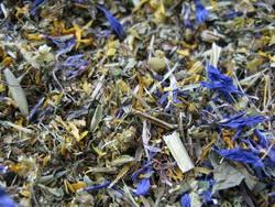 żółta herbatka